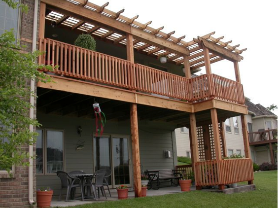A new deck from southwestern remodeling - Two story house plans with covered patios ...