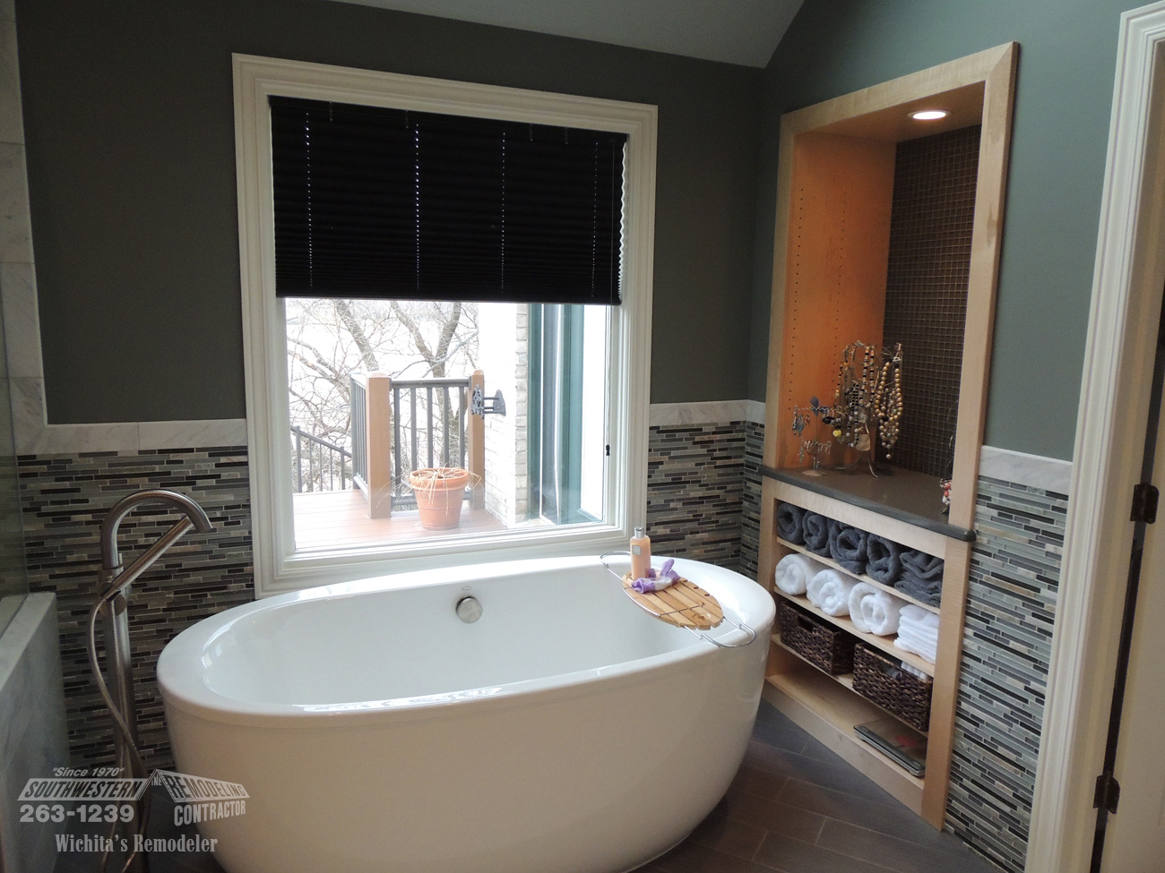 Bathroom Remodeling Wichita Ks Fascinating Bathroom Remodeling  Southwestern Remodeling  Wichita Design Decoration