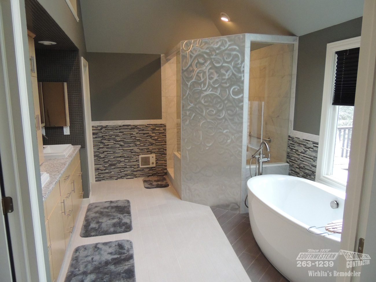 Bathroom Remodeling Southwestern Remodeling Wichita - Bathroom remodeling wichita ks