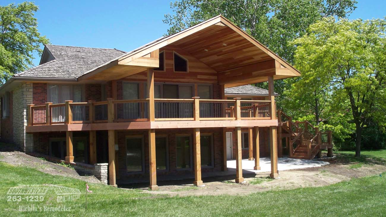 100 Wrap Around Deck Designs Best 10 Pool With Deck Ideas On Pinterest Deck With Above