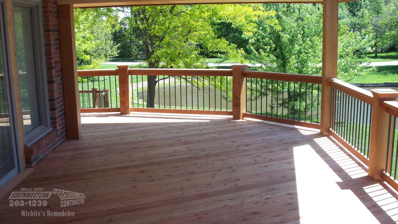 Large Wrap Around Deck Remodel
