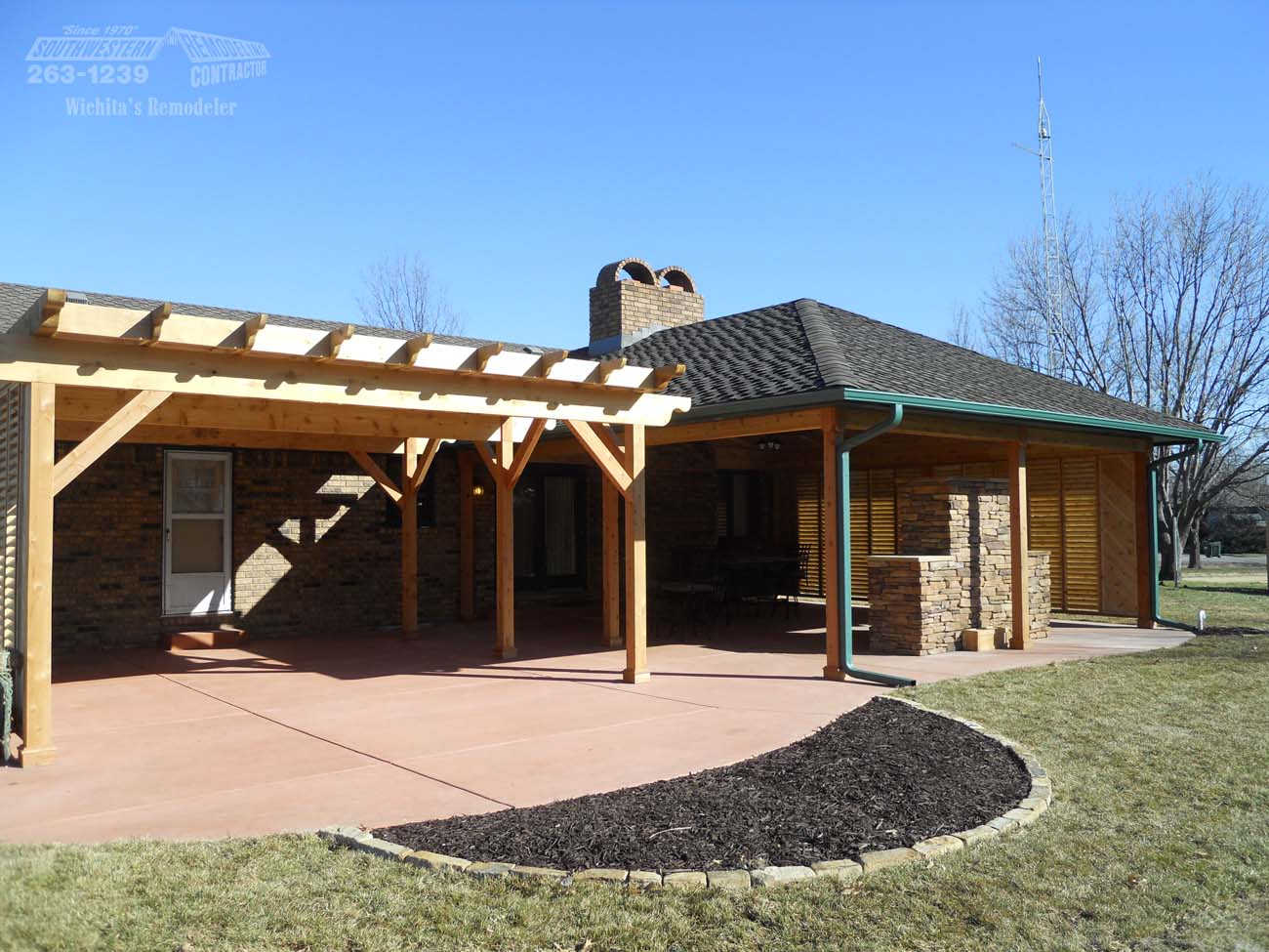 Outdoor Living By Southwestern Remodeling Wichita Ks
