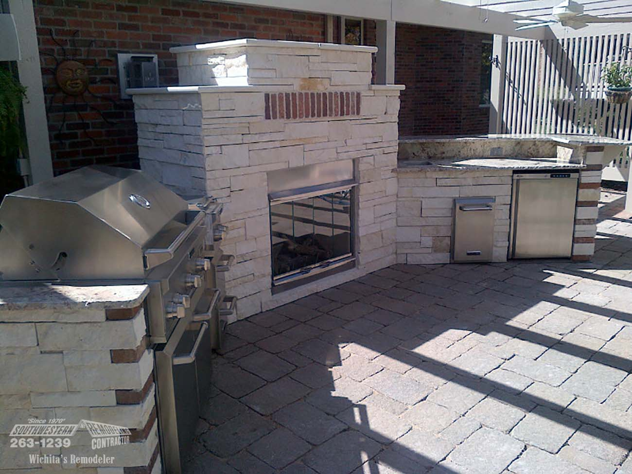 Outdoor living by southwestern remodeling wichita ks - Kitchen remodel wichita ks ...