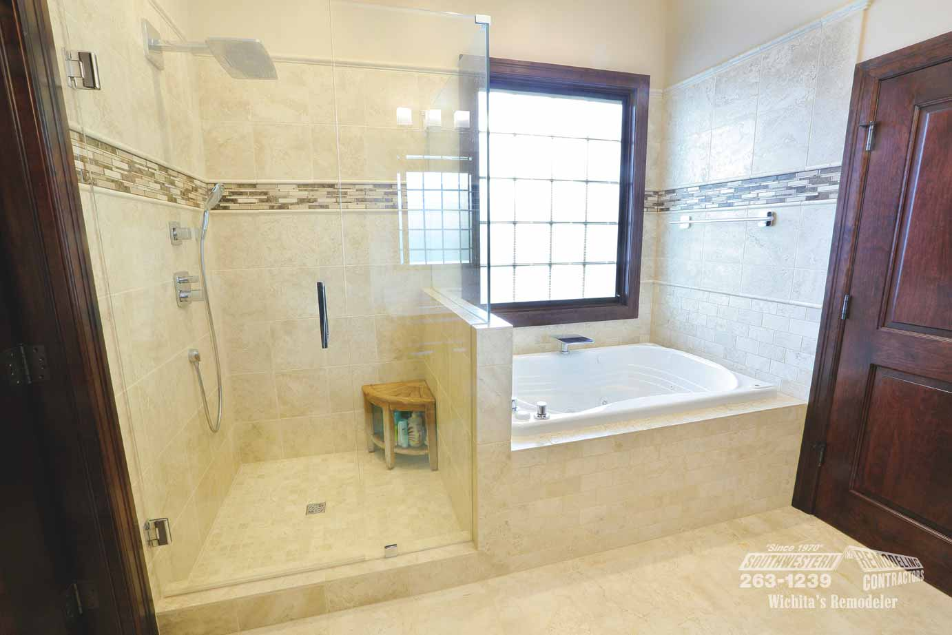 Bathroom remodeling southwestern remodeling wichita for Bathroom remodel 85382