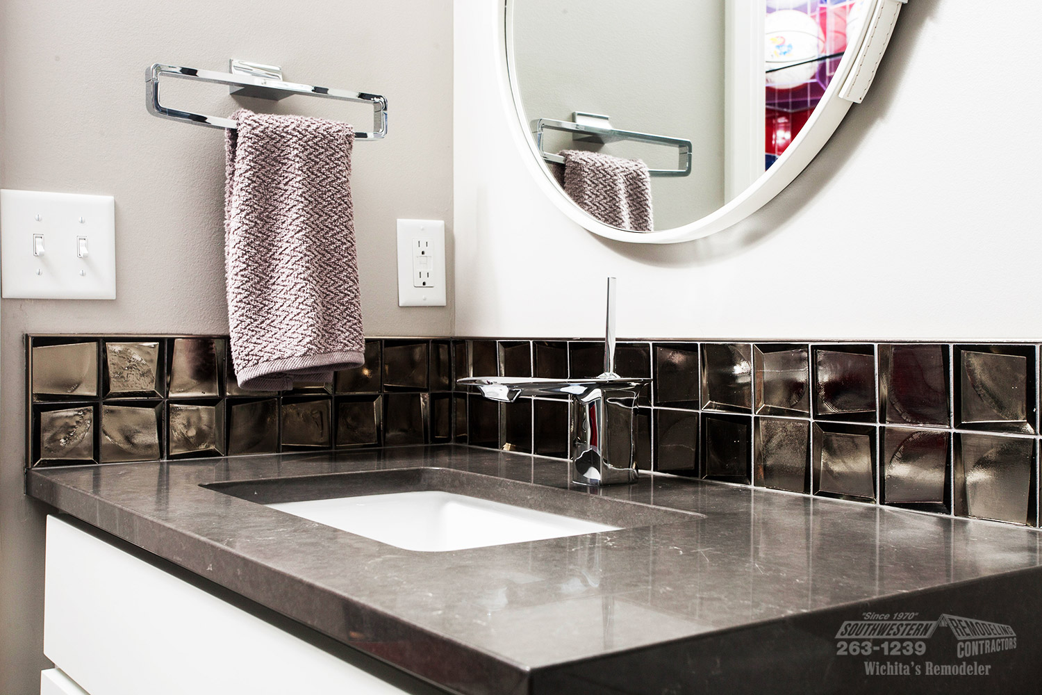 Bathroom Remodeling Wichita Ks Prepossessing Bathroom Remodeling  Southwestern Remodeling  Wichita Decorating Design