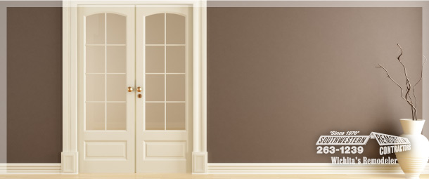 Space Saving Door space-saving doors | southwestern remodeling