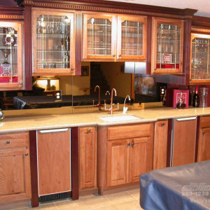 basement bar remodeling wichita home remodeler