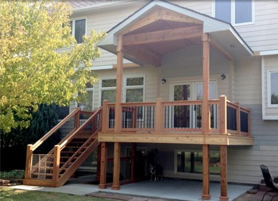 southwestern remodeling deck