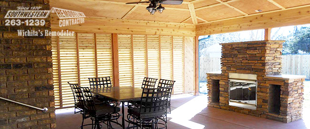 Outdoor Living Spaces for All Seasons Wichita Home Remodeling