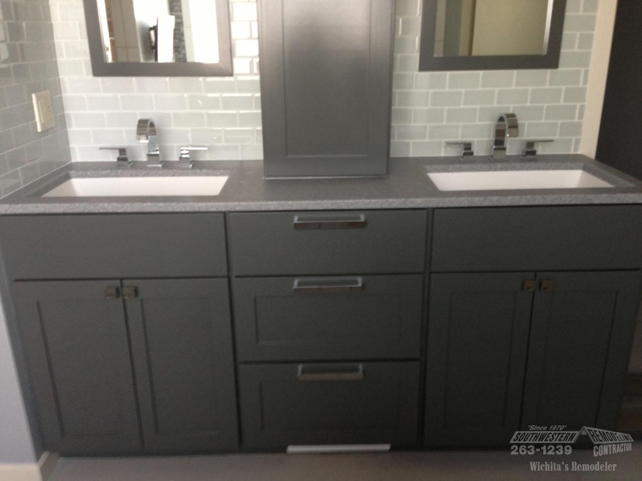 Bathroom Remodeling Southwestern Remodeling Wichita - 1970 bathroom remodel