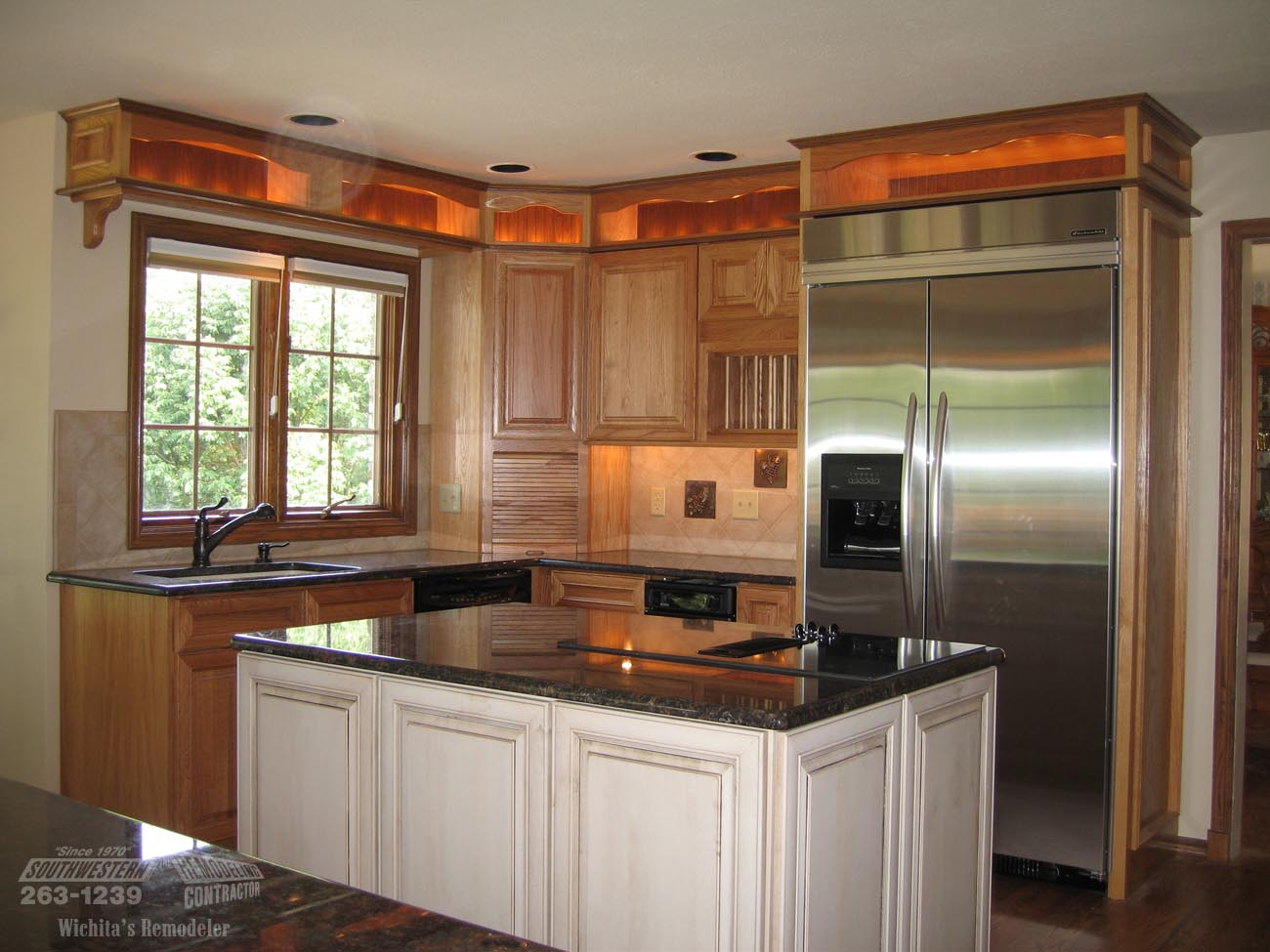 pictures of remodeled kitchens with white cabinets southwestern remodeling kitchen remodeling wichita 24710