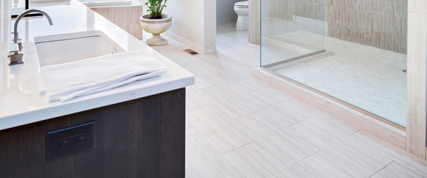 Fresh Bathroom Flooring Inspiration | Wichita Home Remodeling