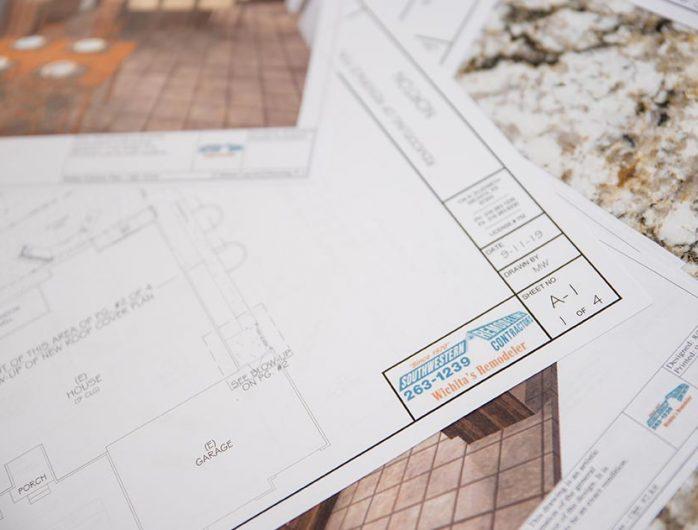 Southwestern Remodeling Project Plans Presentation
