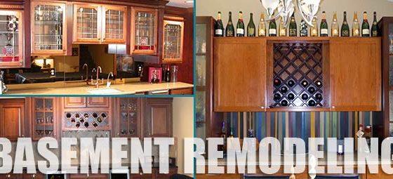 Basement Bar Remodeling by Southwestern Remodeling