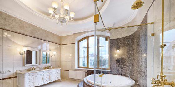 Wichita Home Remodeling Trend Alert: Bathroom Chandeliers